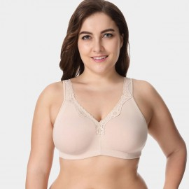 Delimira Wireless Full Coverage Nude Bra (W493)