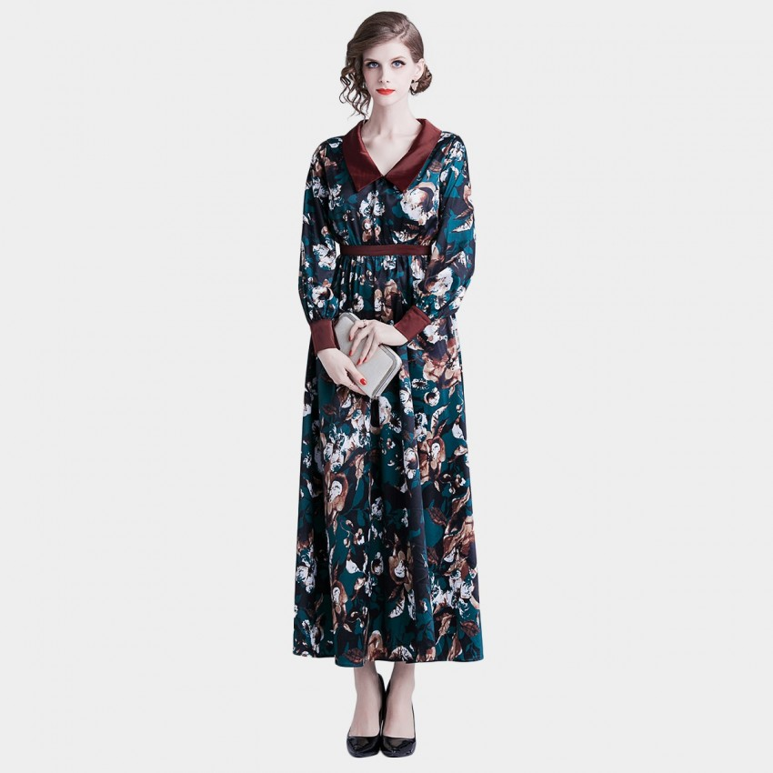 Buy Tina Shine In The Dark Floral Dress online, shop Tina with free shipping
