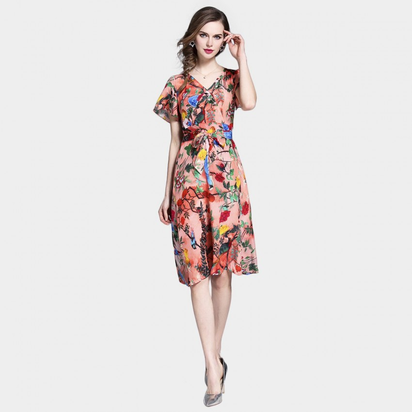 Buy Tina Spring Floral Dress online, shop Tina with free shipping