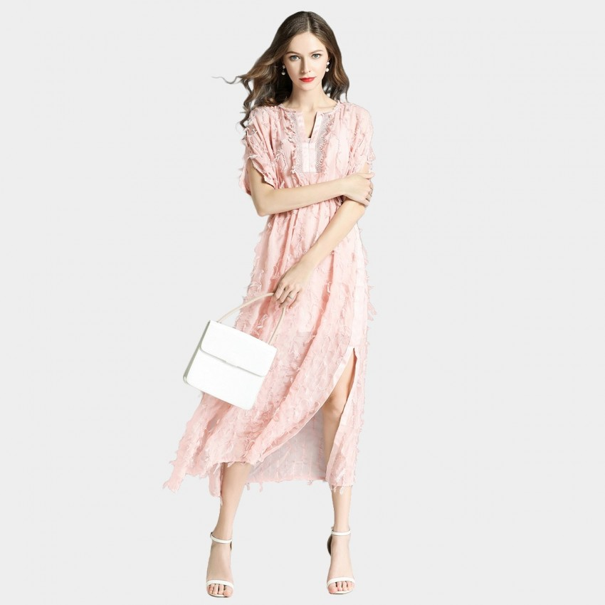 Buy Tina Angelic Pink Dress online, shop Tina with free shipping