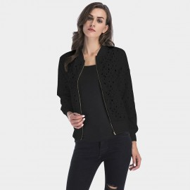 YYFS Broken Hole Black Jacket (5656)
