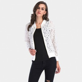 YYFS Broken Hole White Jacket (5656)