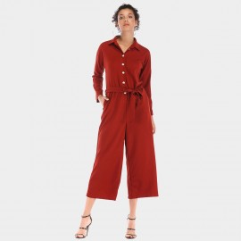 YYFS Loose Red Jumpsuit (5905)