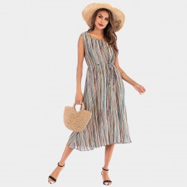 YYFS Multi-Colour Stripe Dress (5981)