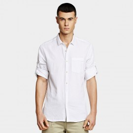 KUEGOU Chic White Shirt (BC-8199)