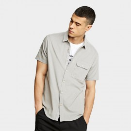 KUEGOU Smooth Grey Shirt (BC-8813)