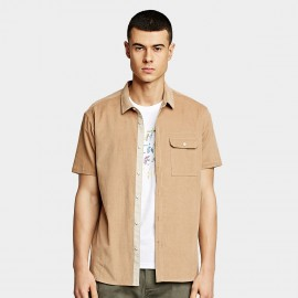 KUEGOU Smooth Khaki Shirt (BC-8813)