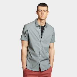 KUEGOU Pocket Grey Shirt (BC-8816)
