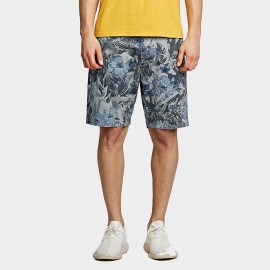 KUEGOU Tropical Blue Shorts (HK-4517)