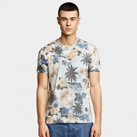 KUEGOU Vacation Floral Tee (HT-8641)