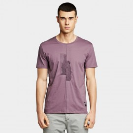 KUEGOU Fingerprint Purple Tee (LT-1776)