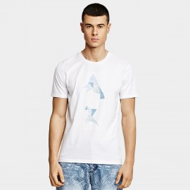KUEGOU Fish White Tee (LT-1778)