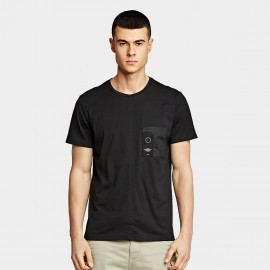 KUEGOU Dashing Black Tee (LT-20114)