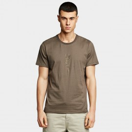 KUEGOU Powerful Brown Tee (LT-20115)