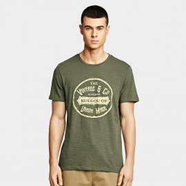 KUEGOU Timeless Green Tee (MT-2214)