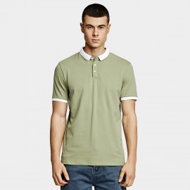 KUEGOU Clean Green Polo Shirt (PT-1272)