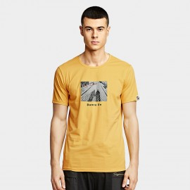 KUEGOU Shadow Yellow Tee (UT-09328)