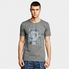 KUEGOU Runner Grey Tee (UT-09344)