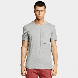 KUEGOU Soft Grey Tee (UT-09347)