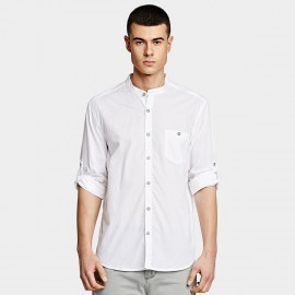 KUEGOU Flawless White Shirt (XC-02639)