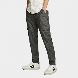 KUEGOU Slim Fit Charcoal Pants (YK-1912)
