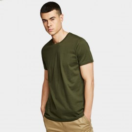 KUEGOU Plain Green Tee (ZT-396)