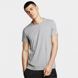 KUEGOU Plain Grey Tee (ZT-396)