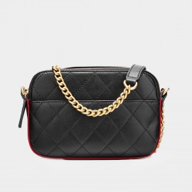 Cilela Small Chain Quilted Red Shoulder Bag (CK-001226S)