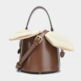 Cilela Bucket Brown Top Handle (CK-001235)