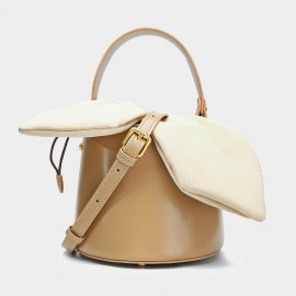 Cilela Bucket Apricot Top Handle (CK-001235)