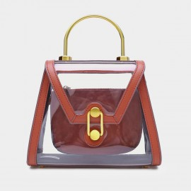 Cilela Futuristic Classic Transparent Red Top Handle (EY31900)
