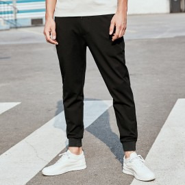 KUEGOU Slim Black Pants (KK-2952)