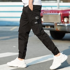 KUEGOU Practical Black Pants (KK-2955)
