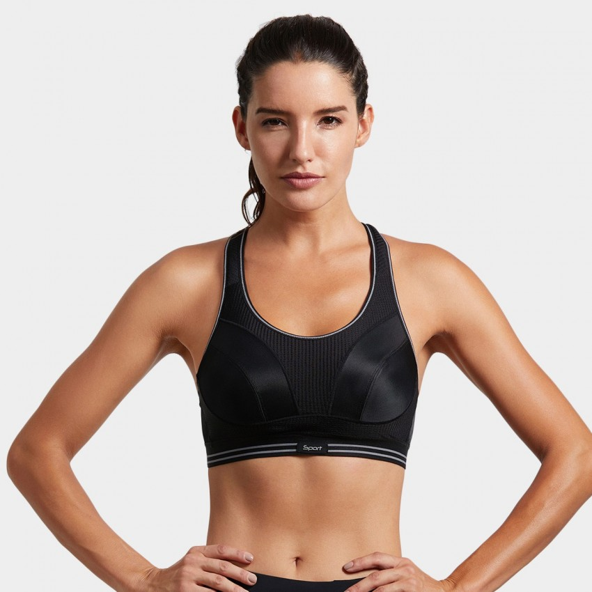 Syrokan bounce reducing stripe sports bra (A250)