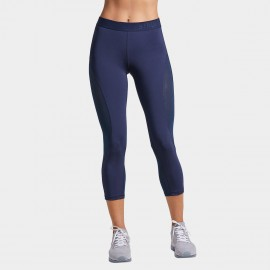 Syrokan navy high waisted 3/4 tights (R302)