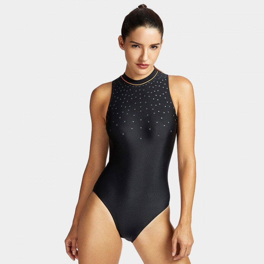 Image 2 of HALTER NECK SWIMSUIT from Zara | Swim suit
