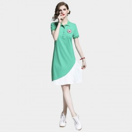 D&R Green Polo Dress (6479)