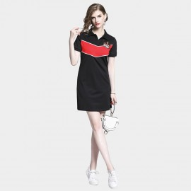 D&R Crown Mini Black Dress (6489)