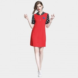 D&R Spotty Red Dress (6492)