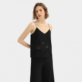 Cocobella Black Lace Cami Top (DA128)