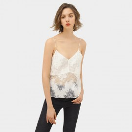 Cocobella White Lace Cami Top (DA128)