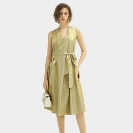 Cocobella Gold Midi Dress (DS1142)