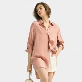 Cocobella Blush Pink Button-up Shirt (HT390)
