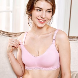 Gratlin Everyday Pink Maternity Bra (A206)