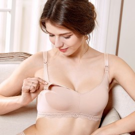 Gratlin Everyday Nude Maternity Bra (A206)