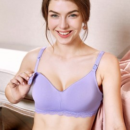 Gratlin Everyday Lilac Maternity Bra (A206)