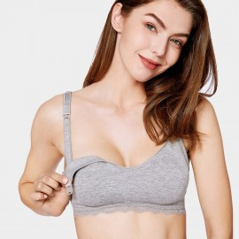 Gratlin Everyday Grey Maternity Bra (A206)