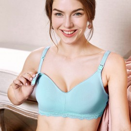 Gratlin Everyday Blue Maternity Bra (A206)