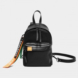 Cilela Jet Black Everyday Backpack (CK-0020300)