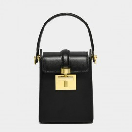 Cilela 9 to 5 Black Top Handle Bag (CK-002043)